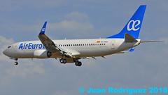 EC-MJU - Air Europa - Boeing 737-85P (W) (Juan Rodriguez - PMI/LEPA) Tags: plane airplane nikon aircraft sigma mallorca palma aeropuerto 70200mm b737 aireuropa d90 aeroplano aeronave boenig skyteam sonsanjuan sonsantjoan pmilepa 80440mm ecmju