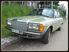 Mercedes-Benz 230E (W123) (v8dub) Tags: mercedes benz 230 e schweiz suisse switzerland german pkw voiture car wagen worldcars auto automobile automotive youngtimer old oldtimer oldcar klassik classic collector
