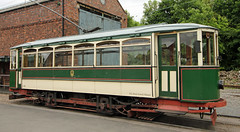 1920's English street tram number '34' (David Russell UK) Tags: road street england black west public electric museum living district no country transport tram number company vehicle dudley 1919 34 midlands wolverhampton tramways tividale