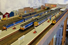 2016_06_26 (jonf45 - 2.5 million views-Thank you) Tags: train layout model br rail railway class british network bachmann southeast 50 moor oo gauge hornby nse langford