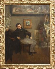 Edgar Degas - James-Jacques-Joseph Tissot 1867-68 (ahisgett) Tags: new york art museum met metropolitian