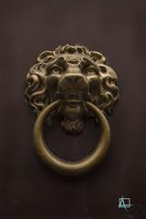 Llama el leon (ainelucero) Tags: llamador leon cabeza bronce buenosaires argentina