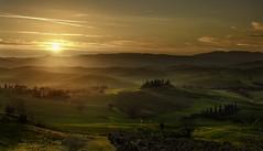 The sunlight in Tuscany (Massetti Fabrizio) Tags: red italy sun sunlight sunrise landscape landscapes italia tuscany siena pienza toscana rodenstock phaseone sanquirico iq180