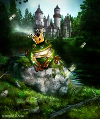 The Frog Prince (~Brenda-Starr~) Tags: book story thefrogprince
