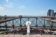 Padlocks (Quality BoB) Tags: new york 2016 brooklyn bridge padlocks