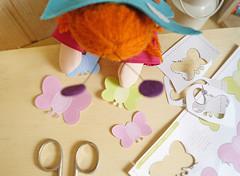 Escolher as cores (Ateliê Bonifrati) Tags: cute diy artesanato craft tutorial pap passoapasso bonifrati