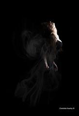 Shadows (xStillx) Tags: light shadow woman black girl shadows 5 five smoke low figure week lowkey challenge faint 52