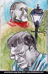 All of my art is at www.chrisfrancz.com (Chris Francz) Tags: art drawings sketchbook myart sketches lifedrawing artistsketchbook inkandbrush sketchbookpages chrisfranczart downtownstroudsburgpa inkamdbrush