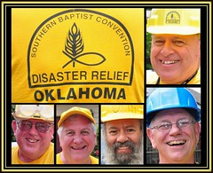 2015 BGCO - DR - Tuttle OKC - Collage (zendt66) Tags: oklahoma smile hat yellow shirt nikon flood debris border picasa cap okc volunteer removal disasterrelief d90 southernbaptist bgco zendt66 sbdr 52weeks2015