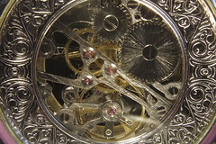 Clockwork (Michael Colwill) Tags: classic clock close watch springs classical clockwork cogs steampunk acro