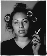 Zelma (maidelsmais) Tags: smoking tribute rollers curlers diannearbus