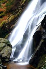 Powerscourt (jim2302) Tags: longexposure ireland blur water rock waterfall powerscourt xe1 fujifilmxe1
