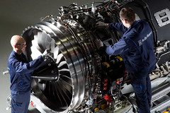 The BR725 is the latest member of the successful BR700 family (Rolls-Royce plc) Tags: germany europe engine rollsroyce activity components assembly dahlewitz cfbu br7 civilaerospace br725 rollsroycecivilaerospace