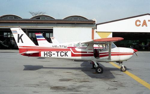 Cessna 150M HS-TCK-01 Hua Hin Nov95