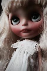 Iriscustom Ooak Blythe Art Doll Lina