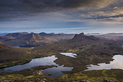 Assynt at Sunset (bradders29) Tags: sunset clouds stacpollaidh assynt culmor benmorecoigach sgorrtuath