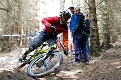 Almost lost it (couscousdelux) Tags: scotland downhill borders mountainbikes walkerburn couscousdelux tweedlovebikefestival2015