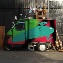 8 (Bilos Mantho) Tags: london digital graffiti tricycle shoreditch bilos
