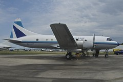 Miami Air Lease Convair 440, N41527, Opa-locka Airport, Miami (Peter Cook UK) Tags: airport florida miami air opa 440 lease convair locka n41527