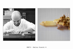 My favorite chef - 02 (PKN78 - Matteo Franchi) Tags: food cooking diptych chef cibo dittico matteomonti rebelotdelpont