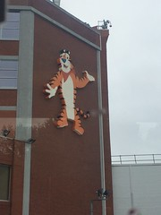 Kellogg's factory (Elysia in Wonderland) Tags: bus manchester factory tiger cereal tony trafford kelloggs