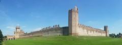 Montagnana (angelicchiatrullall (yeppa!)) Tags: italy castle wall italia unesco castello veneto montagnana