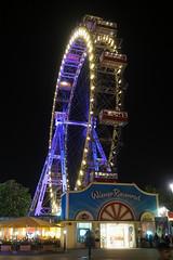 Wiener Riesenrad (1) (Lens Daemmi) Tags: vienna wien wheel giant österreich ferriswheel amusementpark riesenrad prater vergnügungspark at