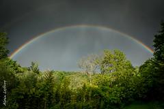 Depuis le jardin (Alainduclub) Tags: rainbow lumiere arcenciel