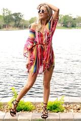 Kaftan Multicolored Dress (sophieandtrey) Tags: beach fashion dress resort casual multicolored kaftan shft