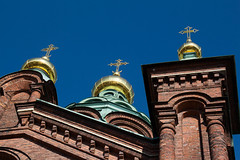 gold (KevPBur) Tags: suomi finland spring helsinki bluesky russian greenroof uspenskicathedral orthodoxcathedral brickchurch golddomes canon650d canonefs18135mmf3556isstm canonrebelt4i canonkissx6i canon650dcanonkissx6icanonrebelt4i