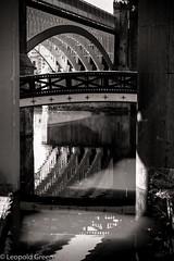 Bridges of Castlefield 8b (Leopold Green) Tags: manchester bridges castlefield railwaybridge manchestershipcanal