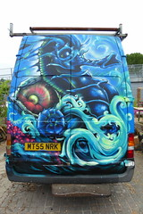 Meeting of Styles 2016, London (duncan) Tags: london graffiti seahorse shoreditch 2016 meetingofstyles meetingofstyles2016