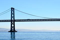 Bay Bridge (dalecruse) Tags: sanfrancisco california lightroom ferrybuilding farmersmarket bridge water blue sea seaside seascape outside outdoor outdoors market markets spring bridges
