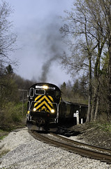 Alco! (glenn_cunningham) Tags: new york state outdoor trains locomotive avon lal livonia alco lakeville shortline c425