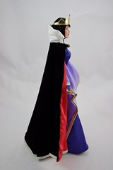 Tonner Evil Queen 16 inch Doll - Deboxed - With Cape - Standing - Full Left Side View (drj1828) Tags: standing doll limitededition 2010 snowwhiteandthesevendwarfs tonner posable evilqueen 16inch robed le1000 deboxed