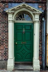 Wonky Door (alexandaredwards) Tags: old colour green sink decay restore value presence shape wonky preserve tilted knock askew majesty admire