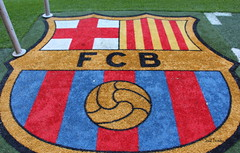 F.C.Barcelona (Saul Tevelez) Tags: barcelona canon football estadio shield futbol campnou fcbarcelona champions escudo 2016 campen ligabbva canoneos650d saultevelez