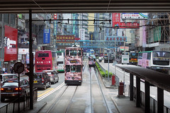 (noidcanuse2011) Tags: city hongkong tram  m43  gf2 lumixg20f17