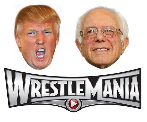 Bernie vs Trump: Epic Kvetch-Fest Called Off, From FlickrPhotos