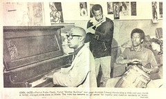 Cool Jazz, L.A. Times February 7th, 1966 (bunky's pickle) Tags: music musicians newspapers jazz 1966 pianos periodicals artscenters losangelescalif wattslosangeles