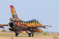NTM 2016 - Tiger Meet Zaragoza - F-16 Falcon (Javier Frauca) Tags: canon aircraft tiger jet zaragoza f16 falcon avin meet militaryaviation 2016 ntm tigermeet 70d tigersquadron natotigermeet avincombate