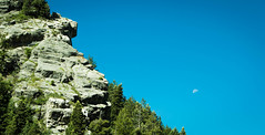 Coldwater Moonset (videopelli2010) Tags: moon utah ogden lewispeak bonnevilleshorlinetrail