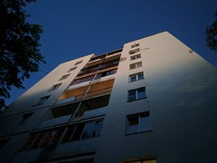 10 p.m. (andrey.pehota) Tags: city summer sky building window russia outdoor