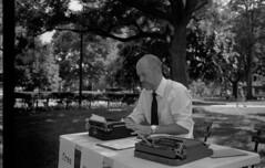 Film and Poetry (vote4blake) Tags: poetry film 35mm bw leica zeiss cbiogon manualfocus typewriter manualtype shootfilmnotpeople washington dc dupont kentmere 400 cheapfilm savefilm buyfilmnotmegapixels ilford ilfosol ilfostop epson v550 m7