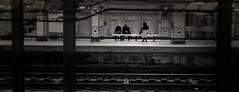 Moody Subway Stop (veyoung52) Tags: subway philadelphia noiretblanc bw underground moody dark filmnoir septa broadstreetsubway blackandwhite