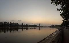 I won't complain ! (Samyra Serin) Tags: bridge sunset seine samsung galaxy pont wont complain s6 2016 alfortville i phoneography instagram ifttt samyraserin samyra008
