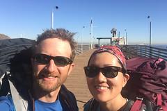 We Made It! (GlobalGoebel) Tags: california island pier boat catalina dock unitedstates jetty hike avalon iphone selfie iphone6 transcatalina