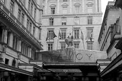 Entrance to the Savoy (IanAWood) Tags: urban cityscapes centrallondon walkingwithmynikon nikondf nikkorafs58mmf14g