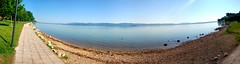 Trasimeno Lake (NoBappo) Tags: panorama lake lago panoramica trasimeno
