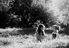 Monochrome Days (Chris Bilodeau Photography) Tags: light monochrome sisters nikon good days d4